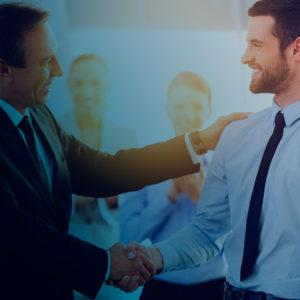 Gratulation zur erfolgreichen Schulung von Führungskräften