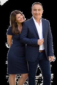 Sandra und Robert Hornsteiner im Businesslook