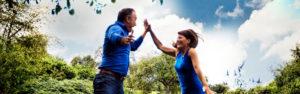 Gemeinsam stark Sandra und Robert Hornsteiner