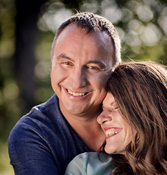 Sandra und Robert Hornsteiner - innige Liebe
