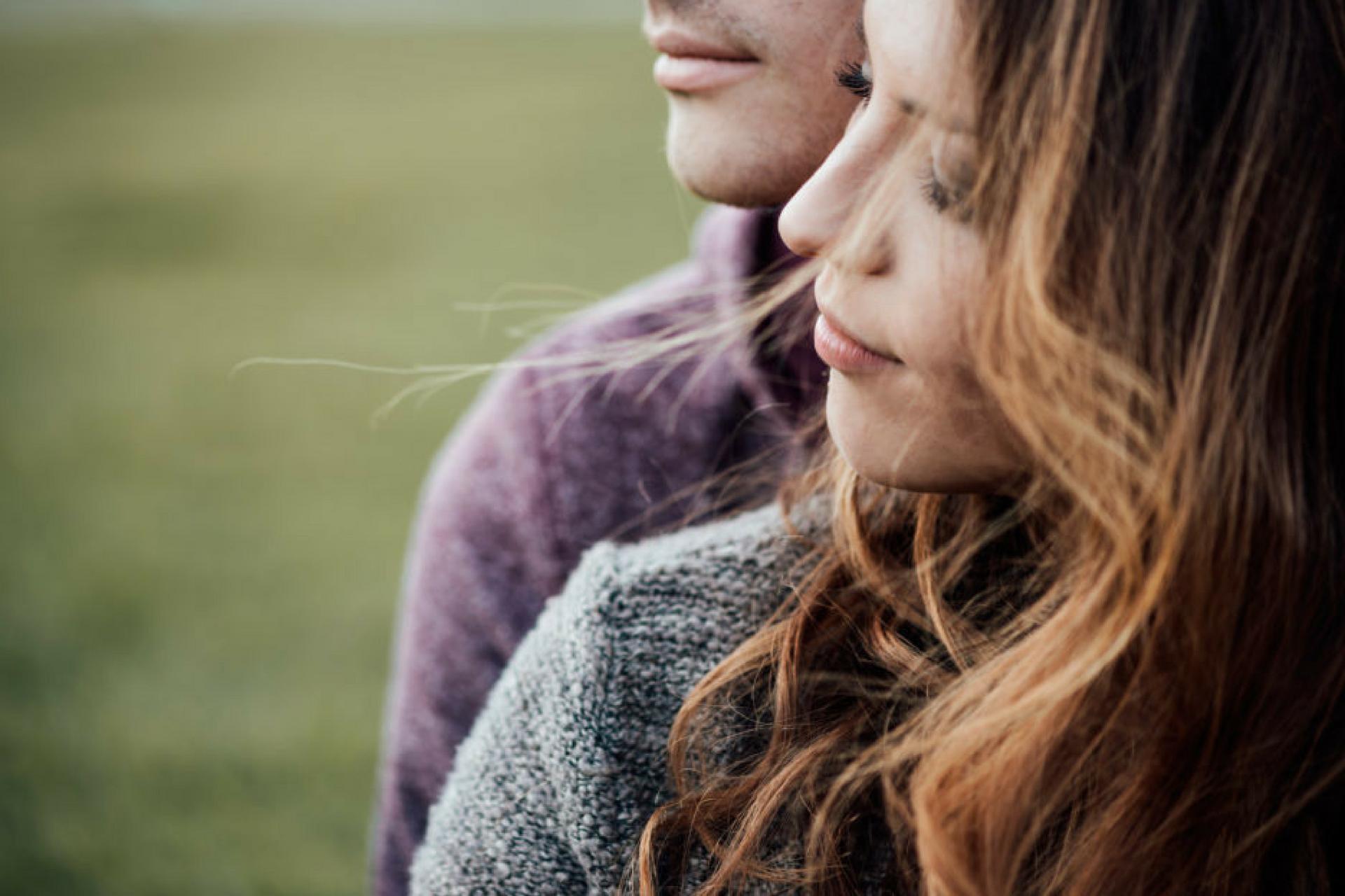 Paar nach Kommunikation in der Psychotherapie